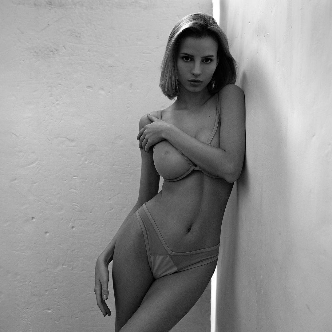 russian lingerie model
