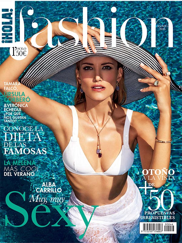 portada_holafashion_julio2016_1z-z alba carrillo supermodelo en H!FASHION