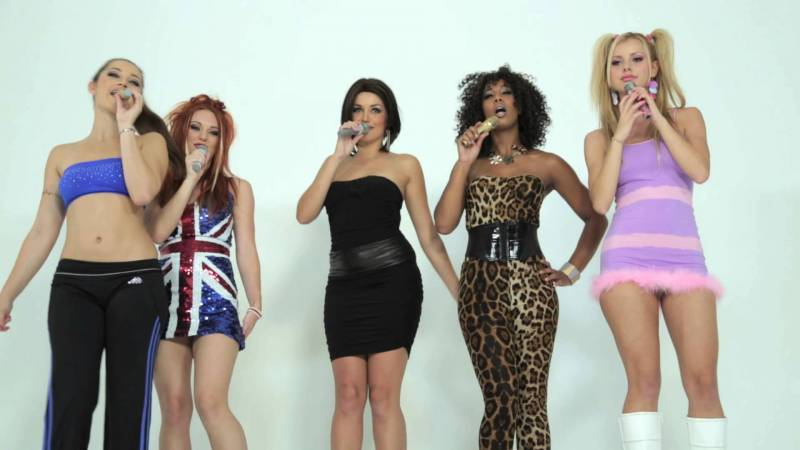 spice-girls-movie-erotic FARDANDO DE COCHE CON RACECHIP