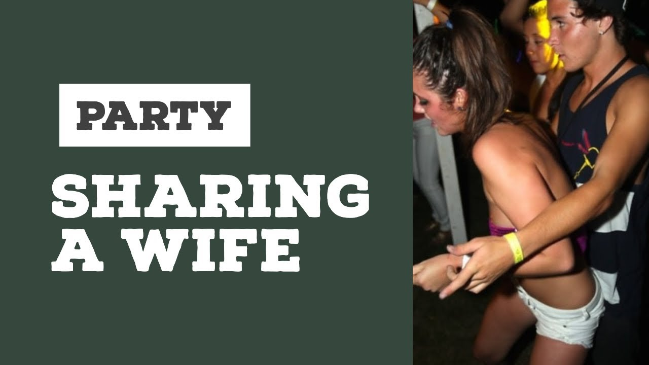 wife and couple exchange party